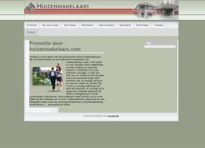WebsiteBaker CMS Huizenmakelaars