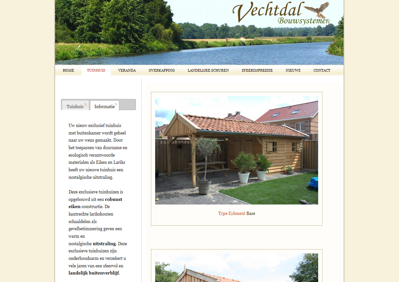 WebsiteBaker Template VechtdalBouwSystemen