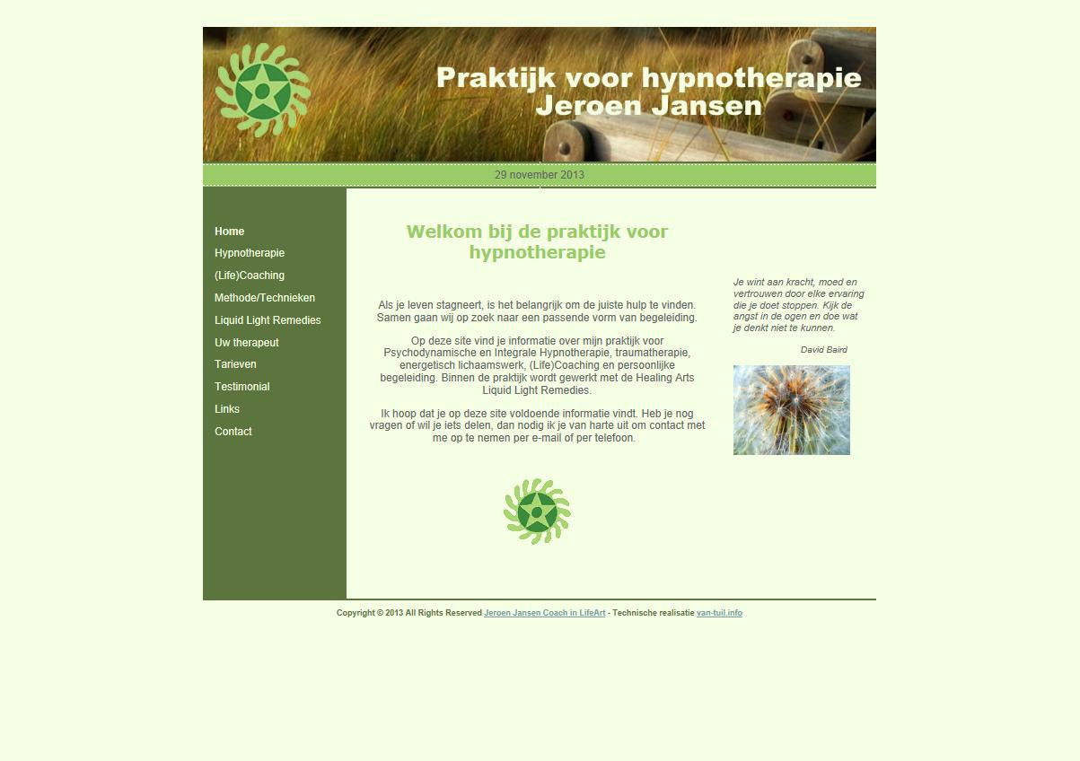 WebsiteBaker CMS Hypnotherapie